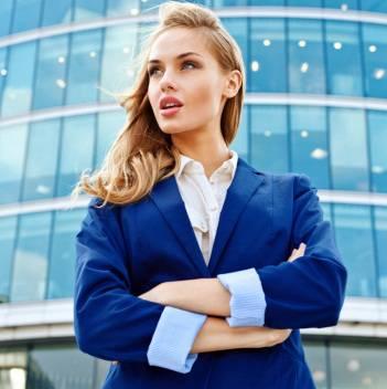 бизнес женщина